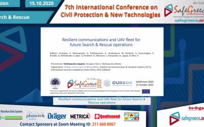 CURSOR partner HRTA presenting paper at SafeGreece 2020
