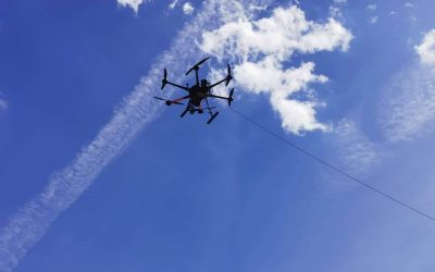 First field trial for the fleet of drones in Felixdorf, Austria on 25-26th August