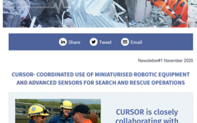 CURSOR project promotional video & newsletter released