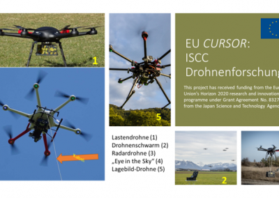 Great interest in CURSOR Drone fleet at Austrian Army seminar, 5-6th October 2020