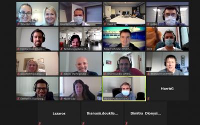 Great team spirit at virtual Lab test n°3 on 28th September 2020